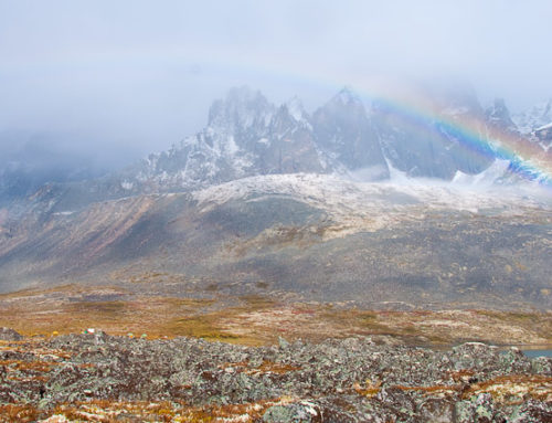 Flying into the Tombstone Mountains – Part I