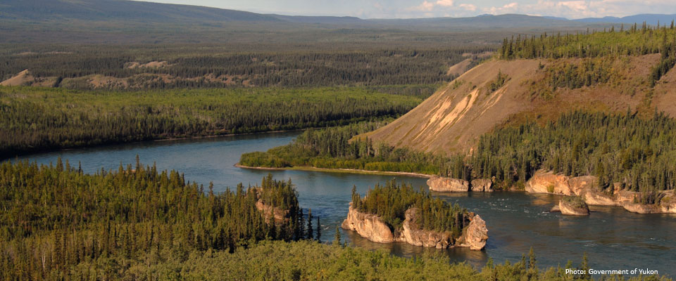 teslin-yukon rivers