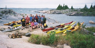 georgian bay kayaking